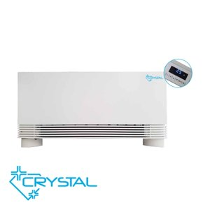 Вентилаторен конвектор Crystal BGR-200 L/R, 129 мм дебелина, Сензорно (touch) управление